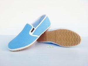 รองเท้าเพื่อสุขภาพ สีฟ้า