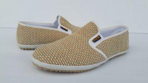 รองเท้า ผ้าทอมือ ฟูริ้วทอง